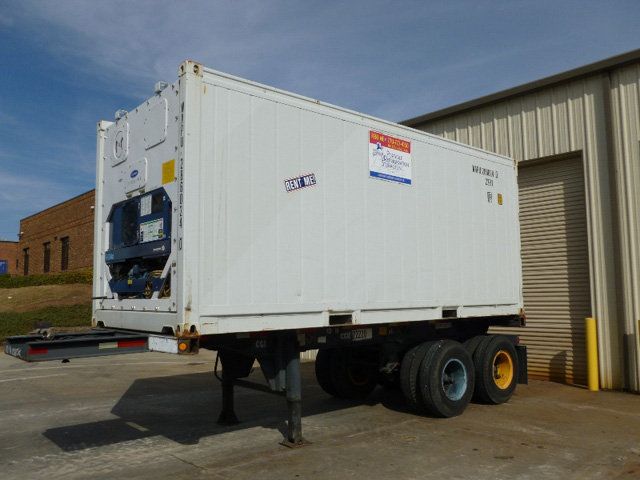 20 Ft Refrigerated Trailers Refrigerated Steel