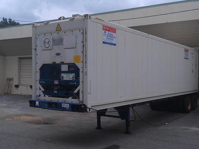40 ft Refrigerated Trailers |Rent or Lease Refrigerated ...